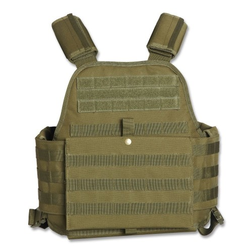 chaleco airsoft tan